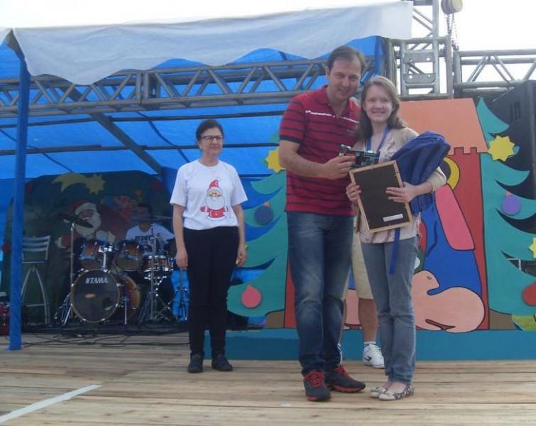 CDL de Itaiópolis faz entrega da premiação do recicla CDL na escola