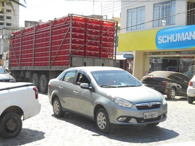 Audiência Pública vai debater o trânsito de caminhões no Centro da cidade de Itaiópolis