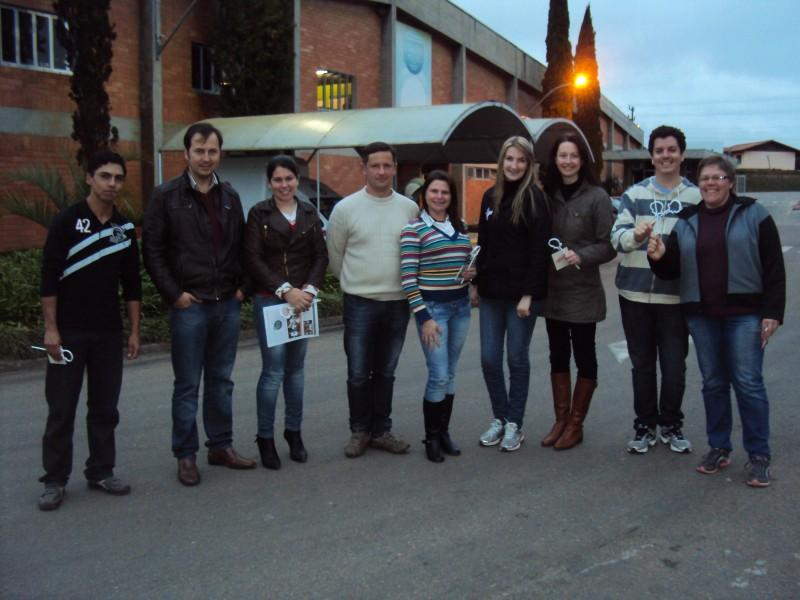 Empresários Associados da AEI e CDL visitam a Embraco