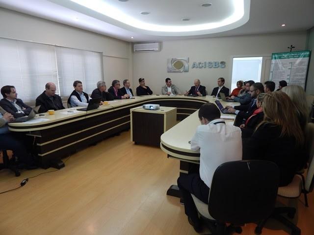 Representantes do Norte e Planalto Norte se reúnem em São Bento
